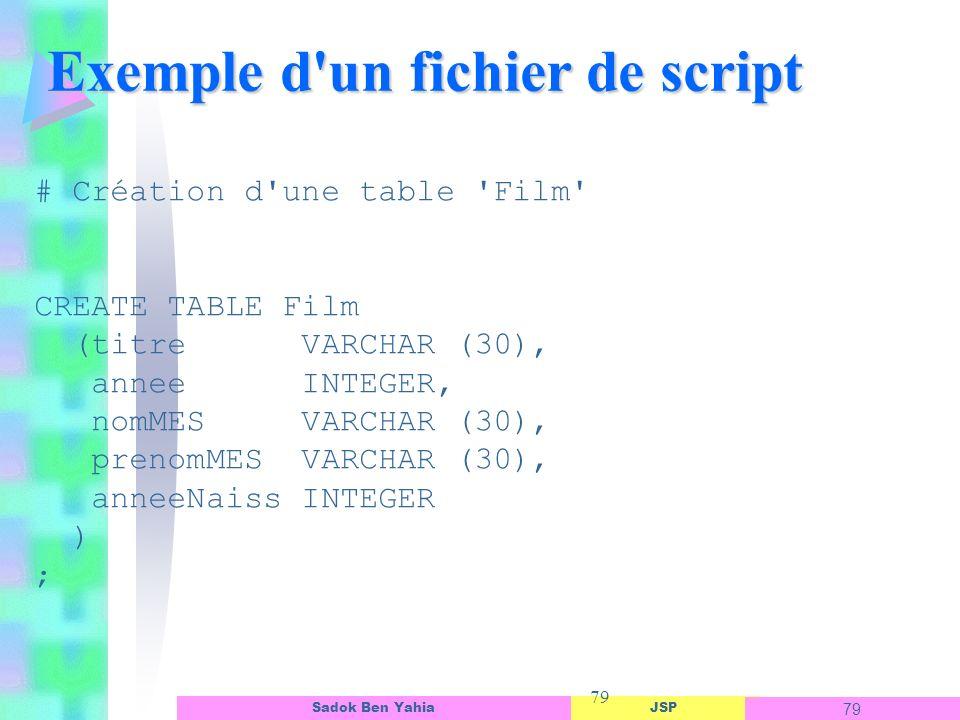 Exemple d un fichier de script