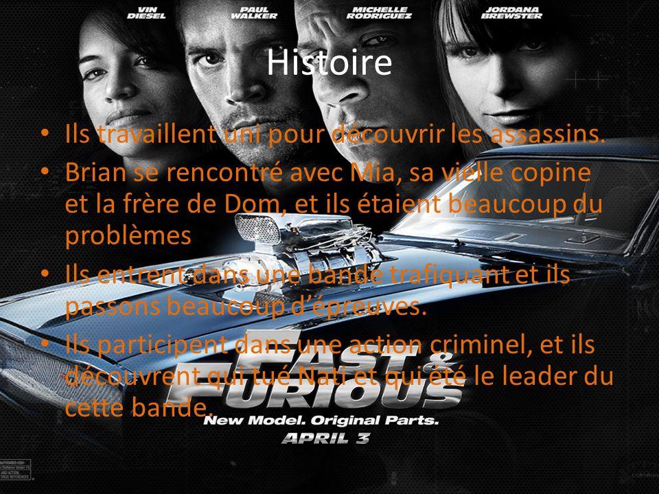 Histoire Ils travaillent uni pour découvrir les assassins.