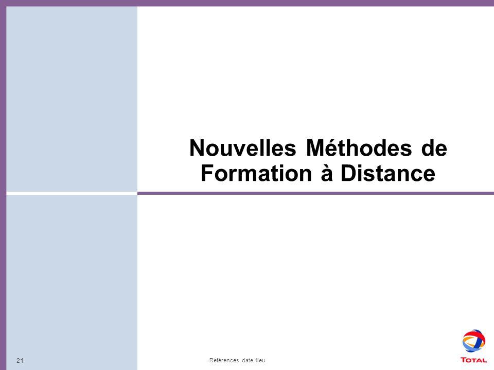 Nouvelles Méthodes de Formation à Distance