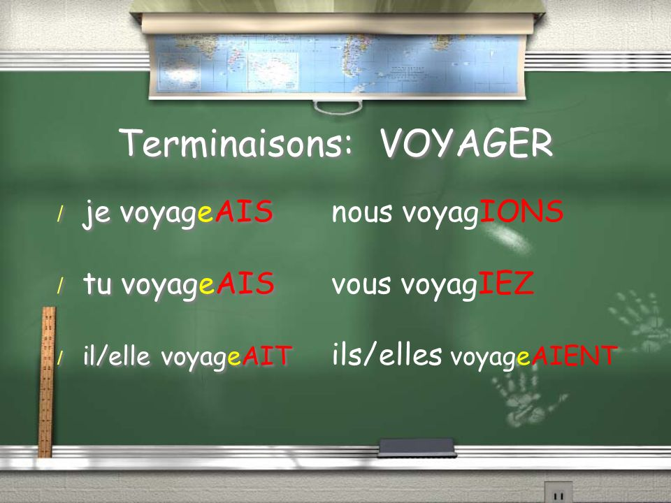 Terminaisons: VOYAGER