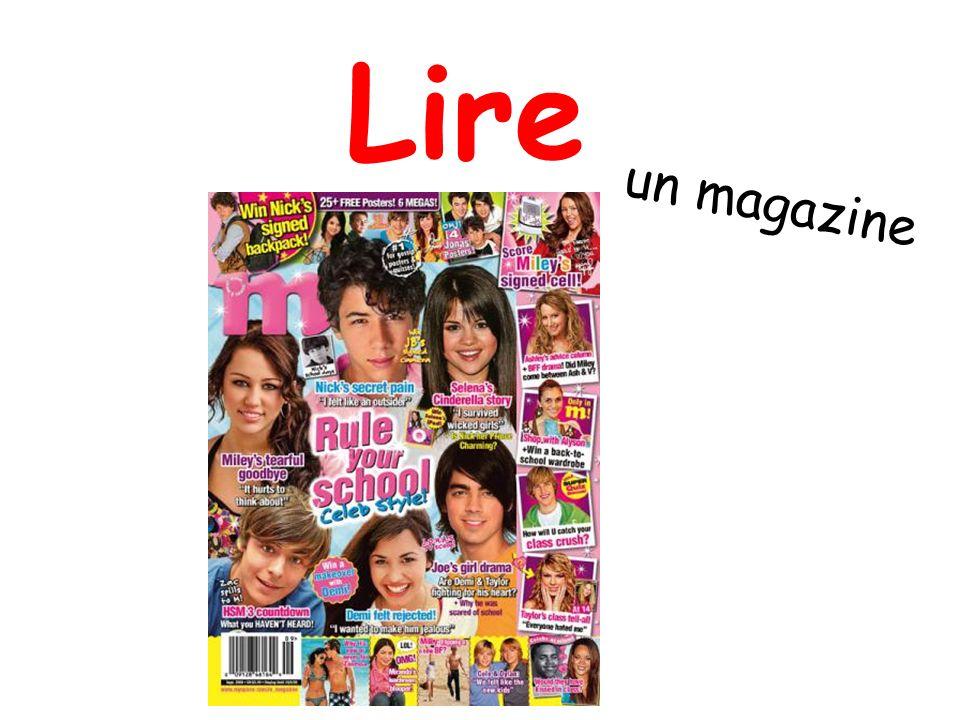 Lire un magazine