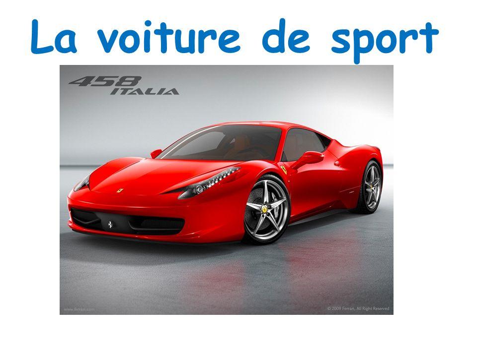 La voiture de sport