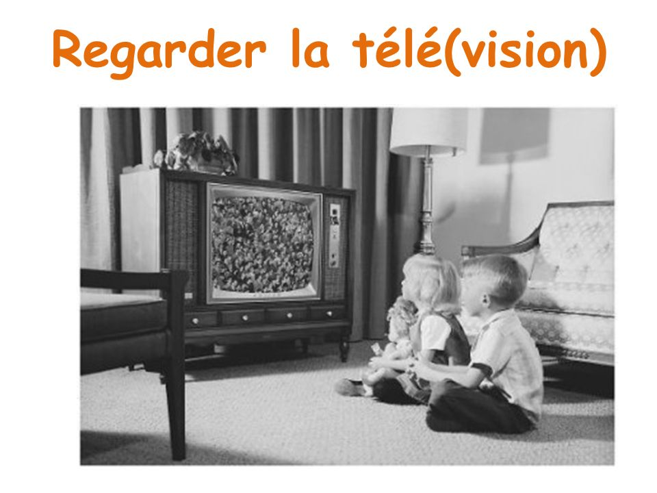Regarder la télé(vision)