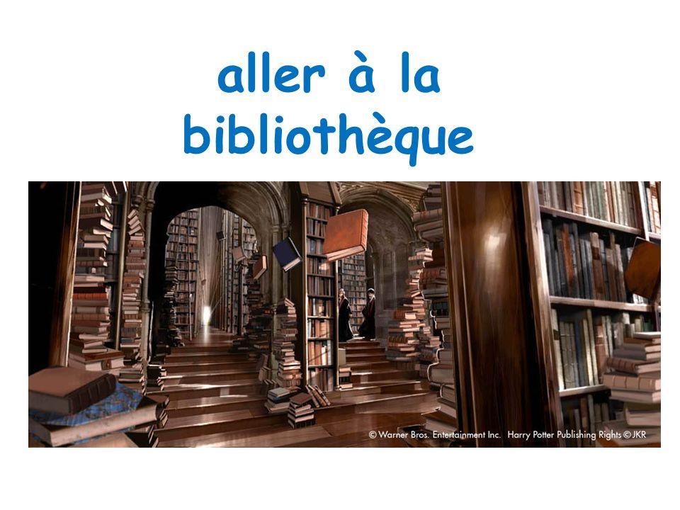 aller à la bibliothèque