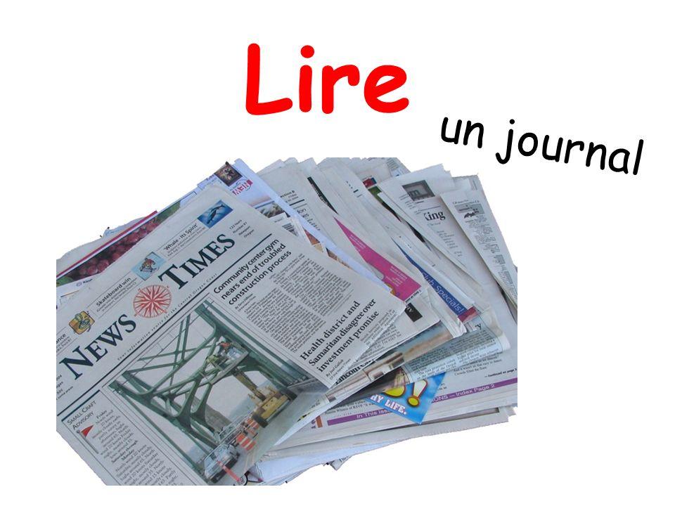 Lire un journal