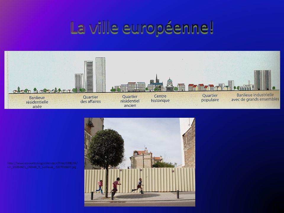 La ville européenne.