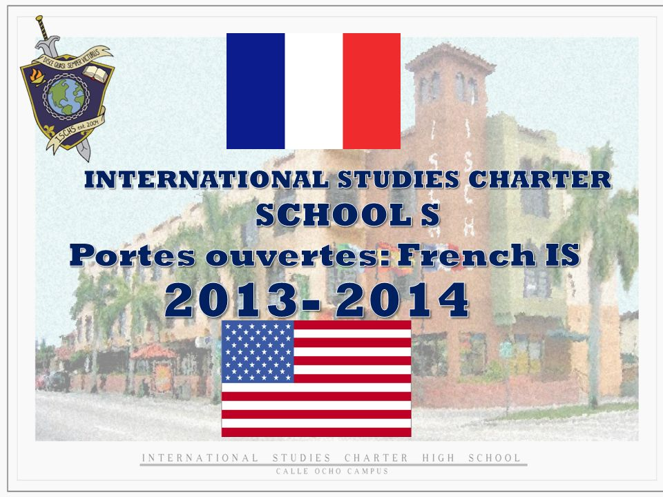 INTERNATIONAL STUDIES CHARTER
