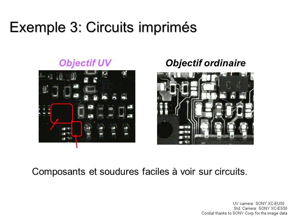 Exemple 3: Circuits imprimés