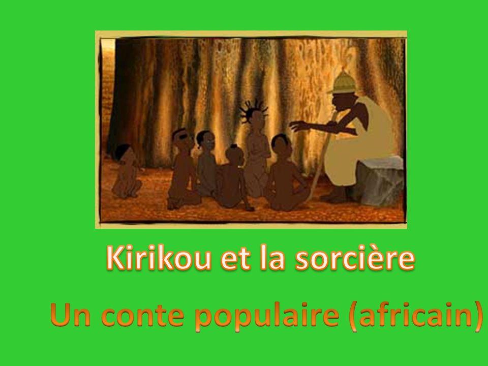 Un conte populaire (africain)