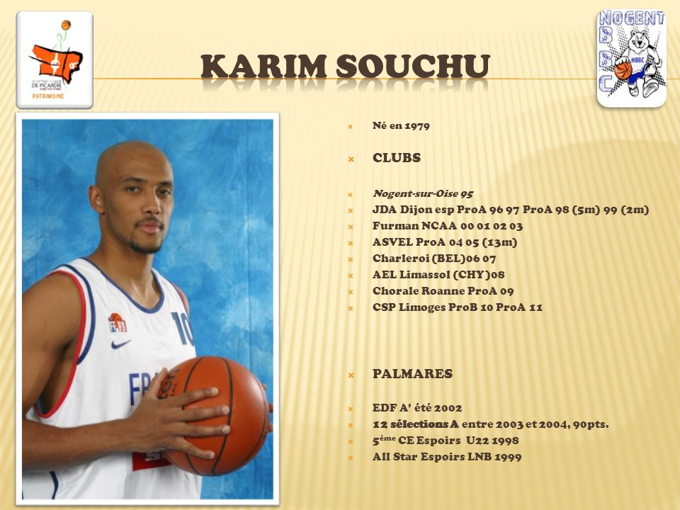 Karim souchu CLUBS PALMARES