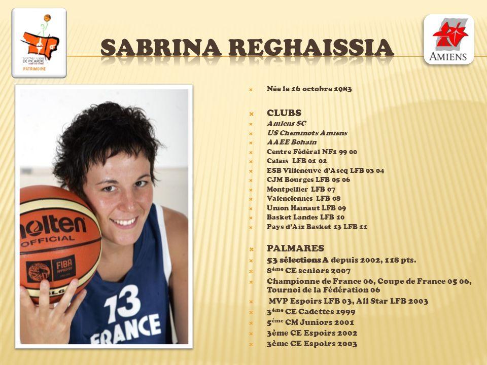 Sabrina reghaissia CLUBS PALMARES