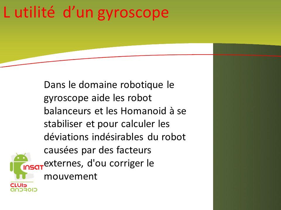 L utilité d'un gyroscope