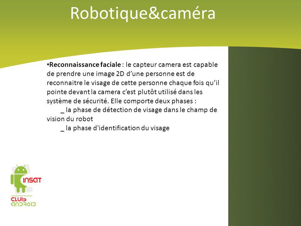 Robotique&caméra