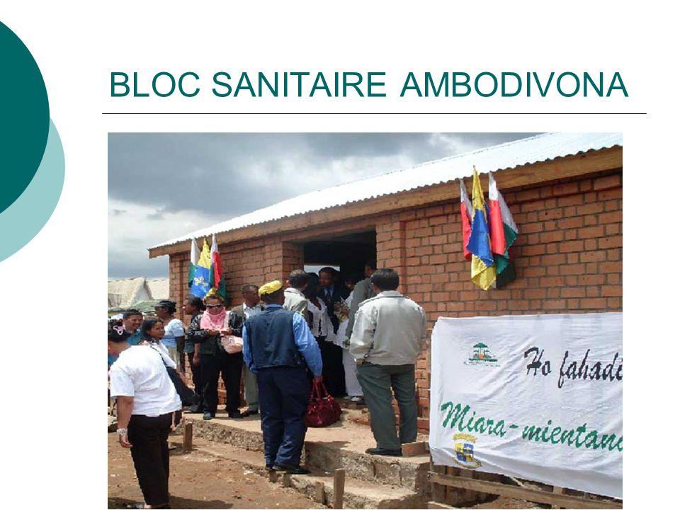 BLOC SANITAIRE AMBODIVONA