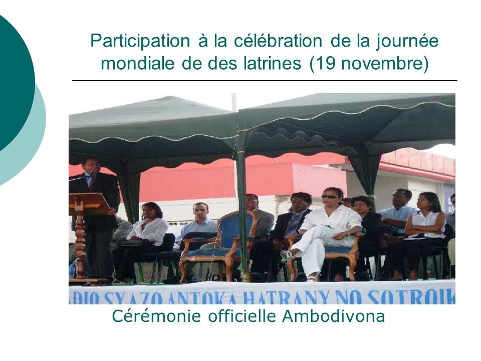 Cérémonie officielle Ambodivona