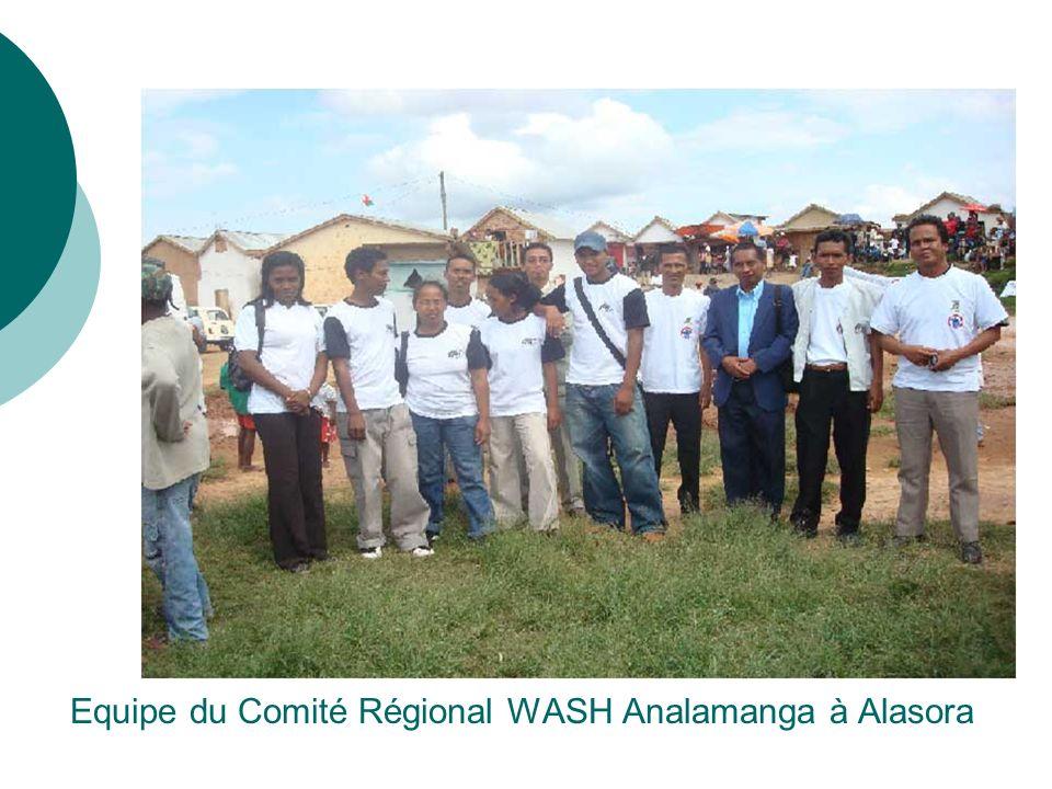 Equipe du Comité Régional WASH Analamanga à Alasora