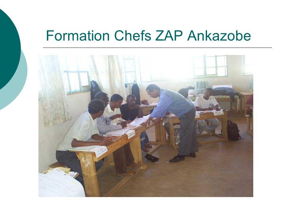 Formation Chefs ZAP Ankazobe