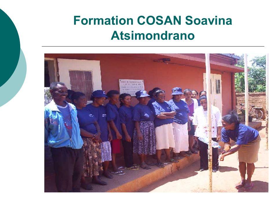 Formation COSAN Soavina Atsimondrano