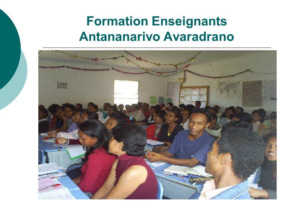 Formation Enseignants Antananarivo Avaradrano
