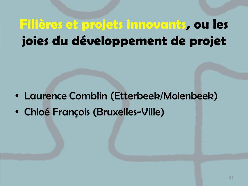 Filières et projets innovants, ou les joies du développement de projet