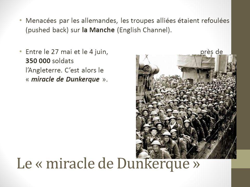 Le « miracle de Dunkerque »