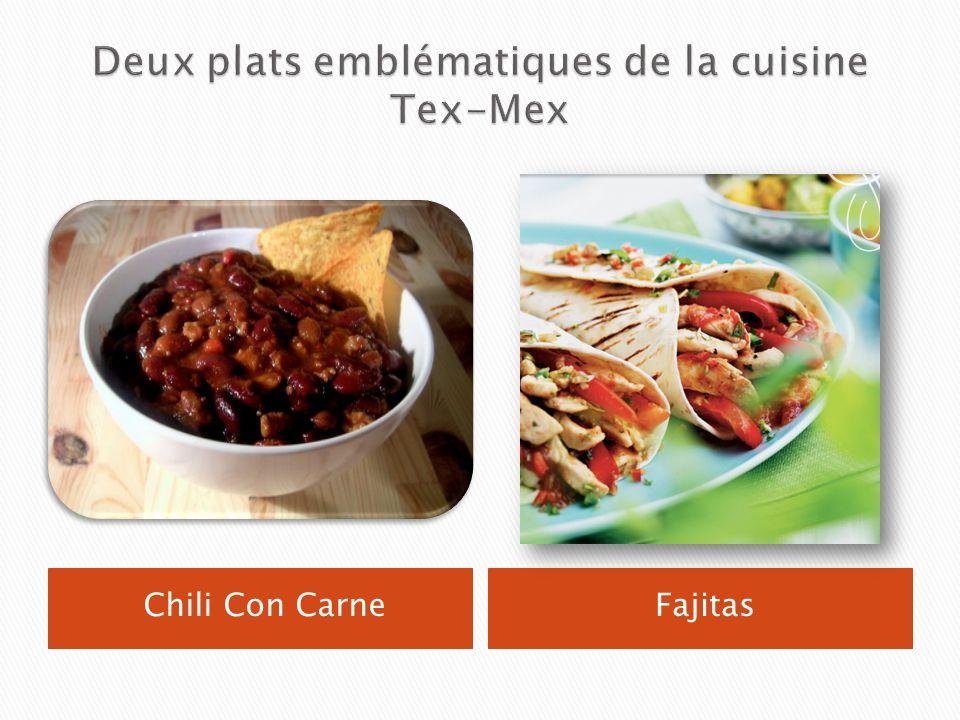 Deux plats emblématiques de la cuisine Tex-Mex