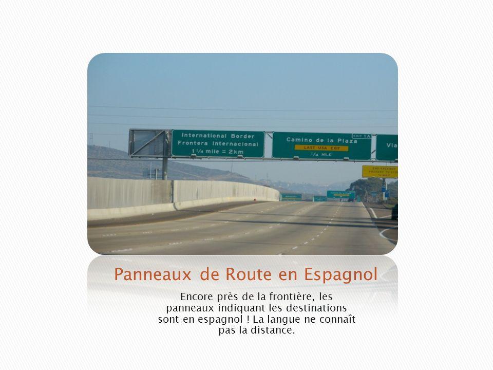 Panneaux de Route en Espagnol