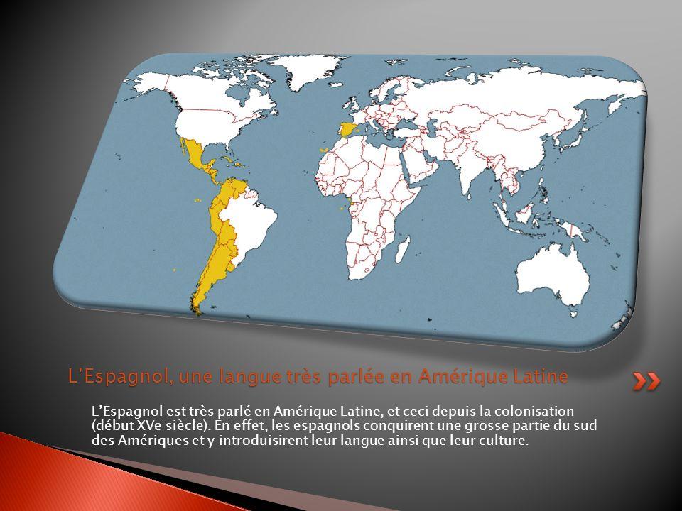 L'Espagnol, une langue très parlée en Amérique Latine