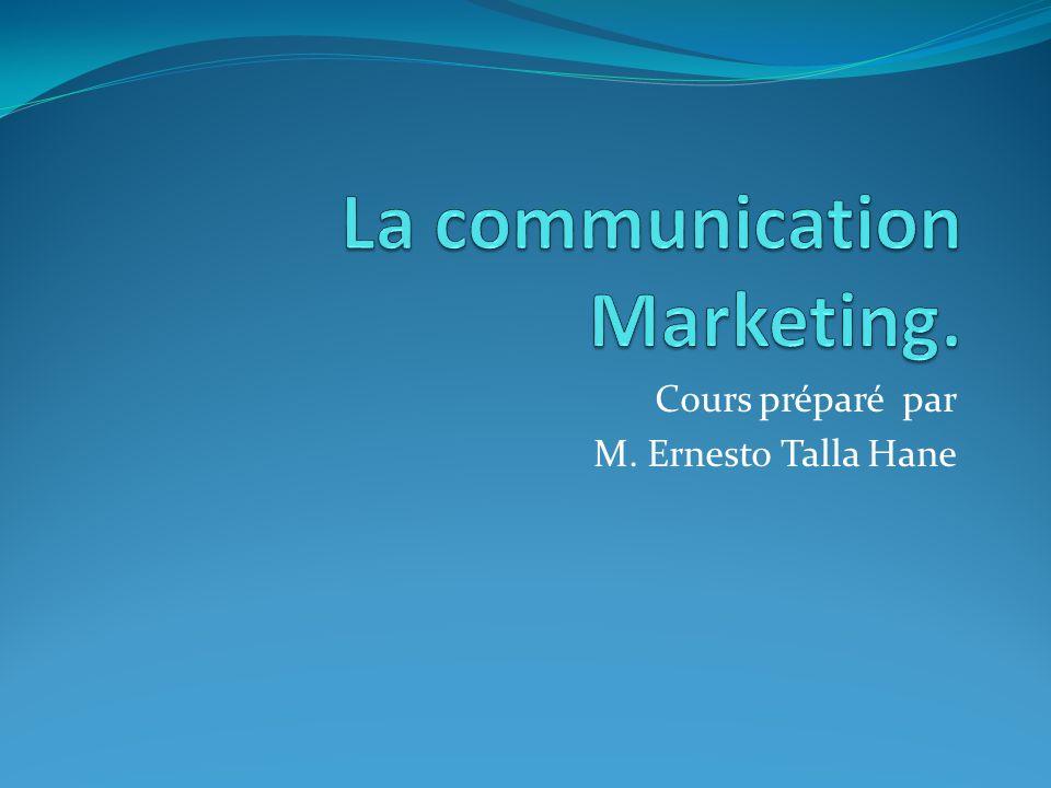 La communication Marketing.