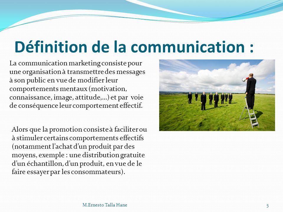 Définition de la communication :