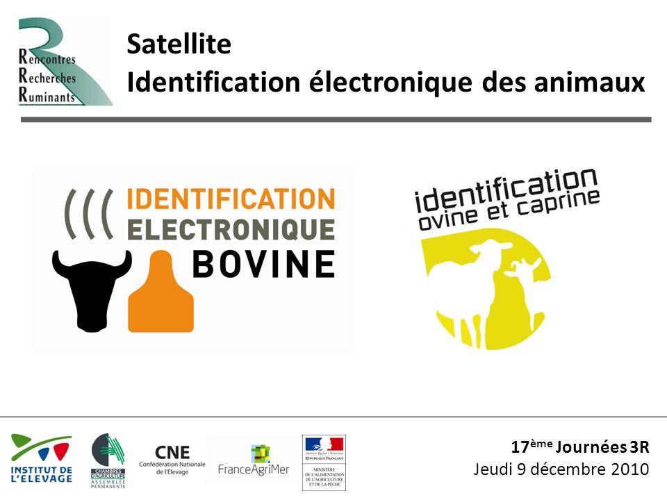 Satellite Identification électronique des animaux