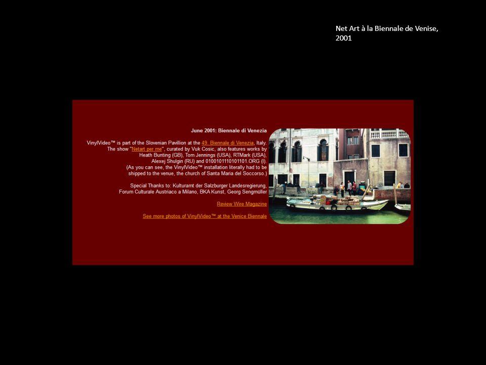 Net Art à la Biennale de Venise, 2001