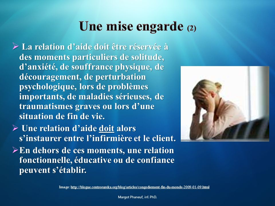 Une mise engarde (2)