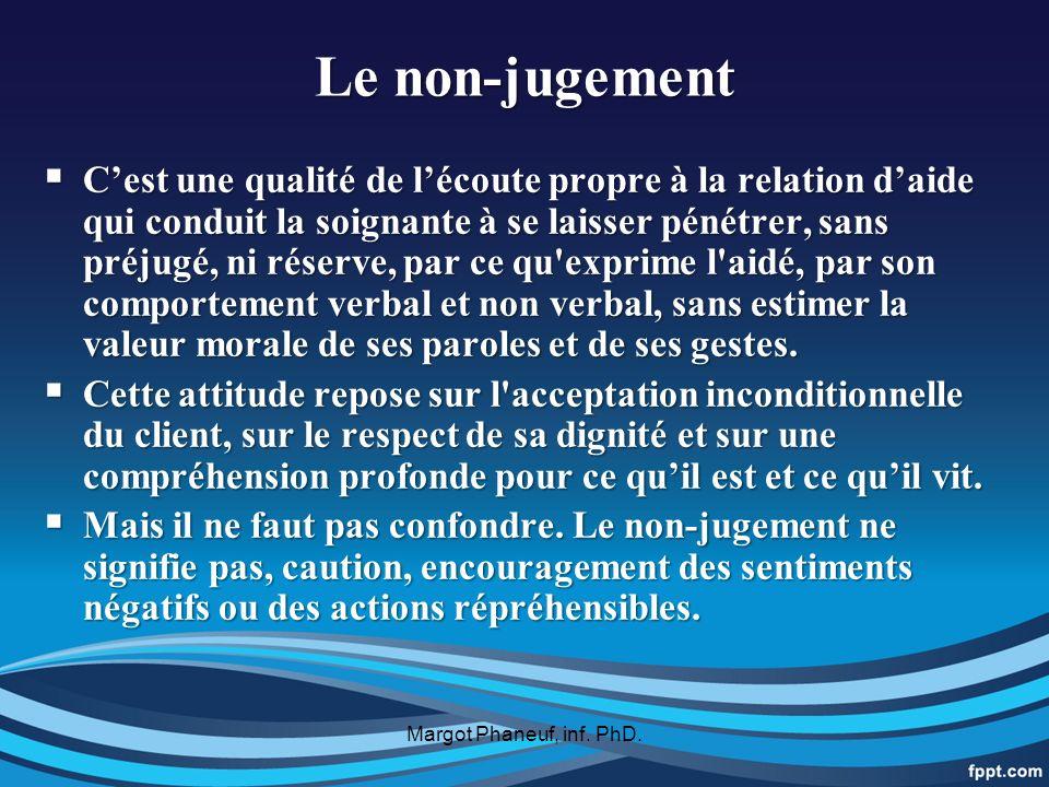 Le non-jugement