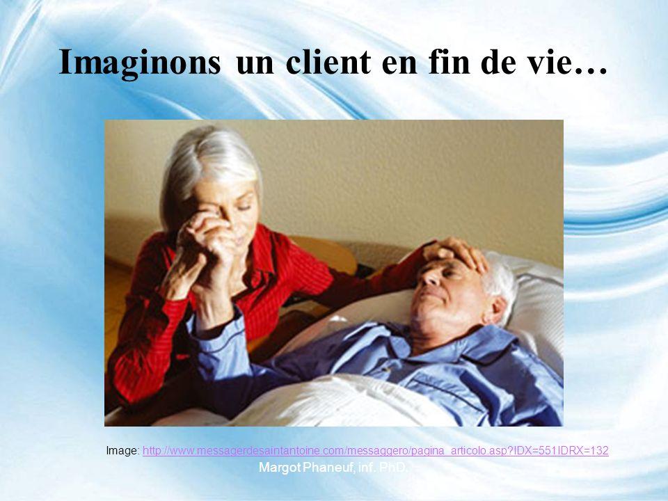 Imaginons un client en fin de vie…