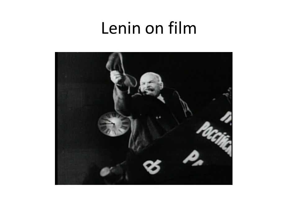 Lenin on film