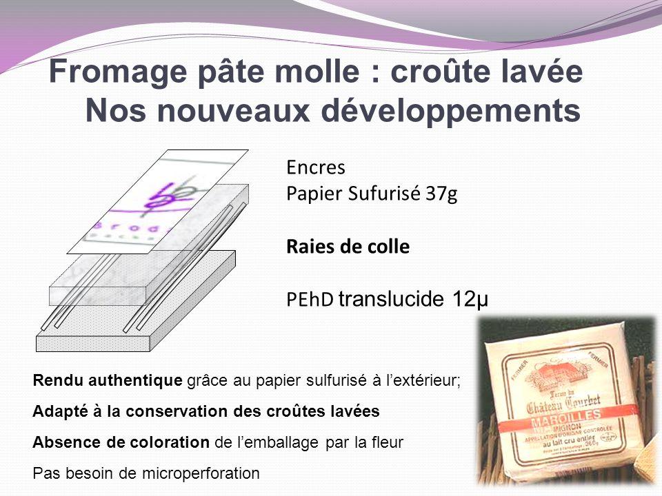Fromage pâte molle : croûte lavée Nos nouveaux développements