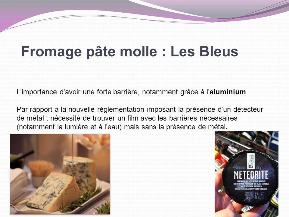 Fromage pâte molle : Les Bleus