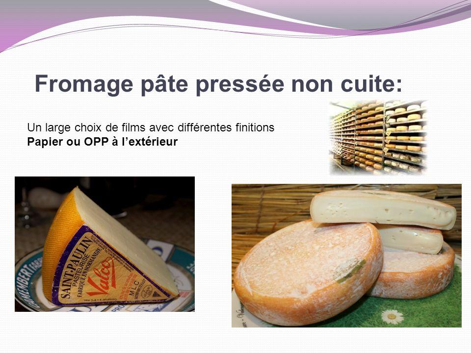 Fromage pâte pressée non cuite: