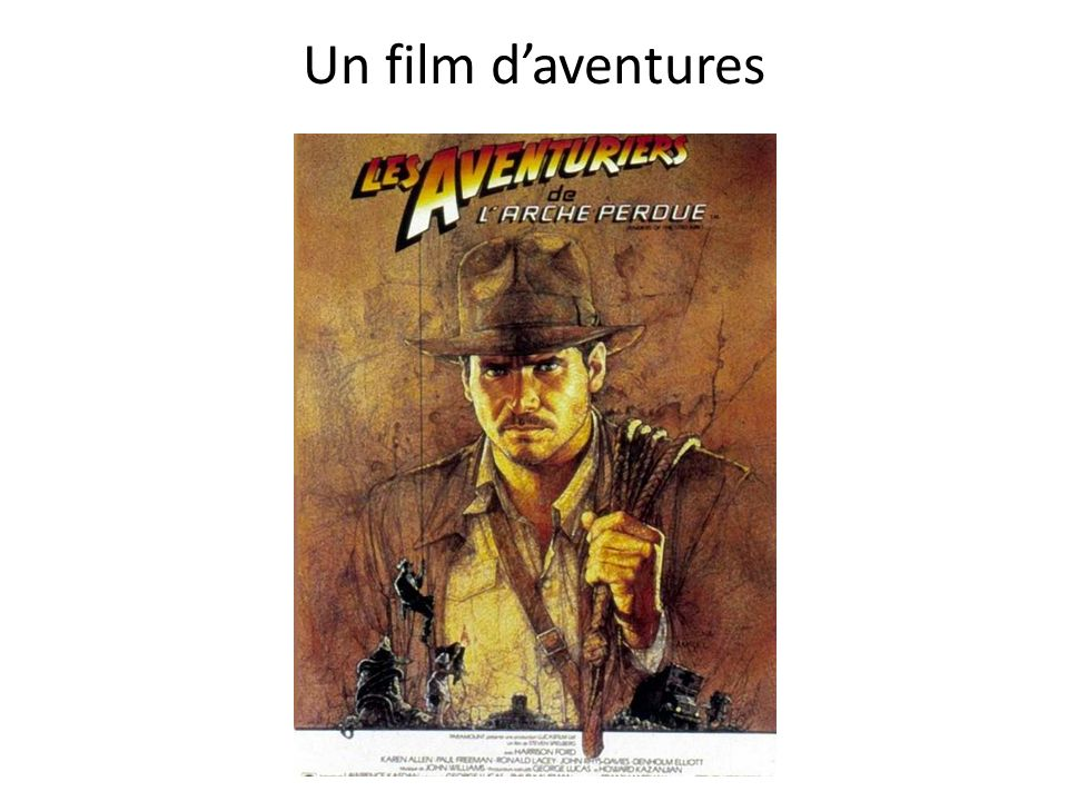 Un film d'aventures