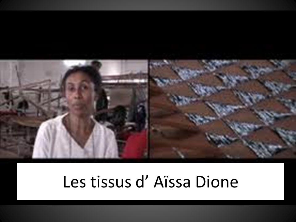 Les tissus d' Aïssa Dione