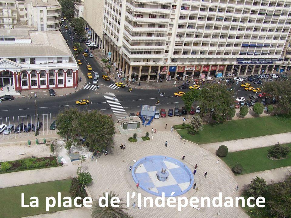 La place de l'Indépendance