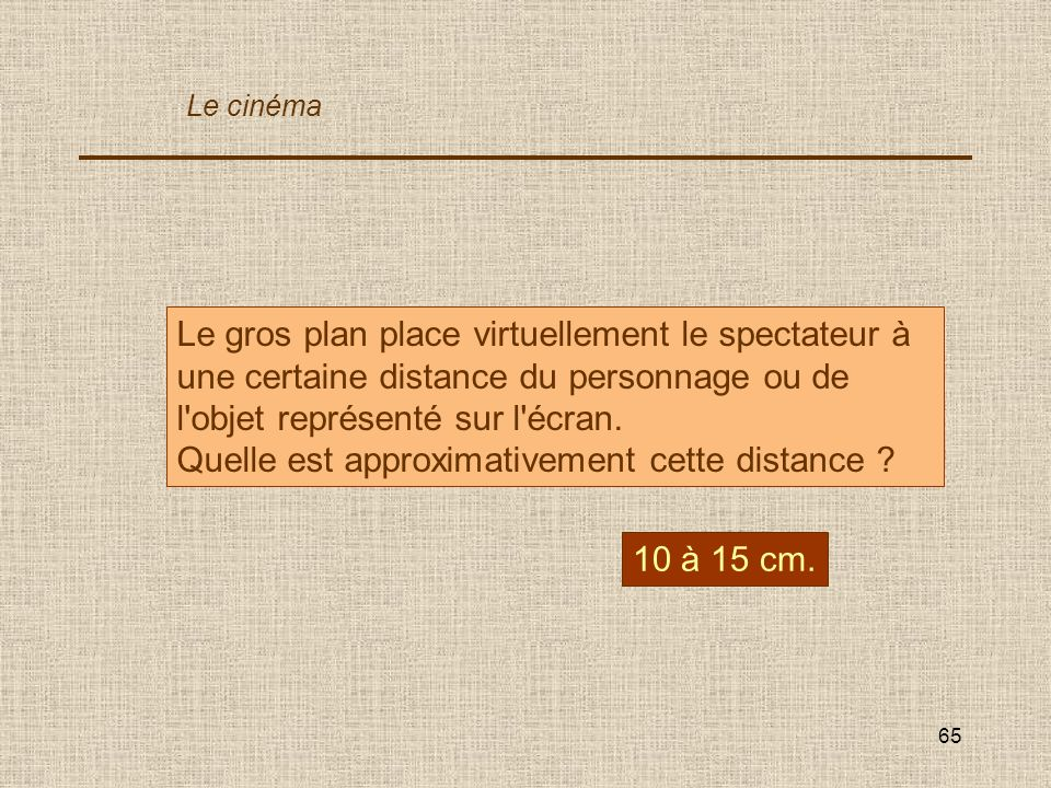 Quelle est approximativement cette distance