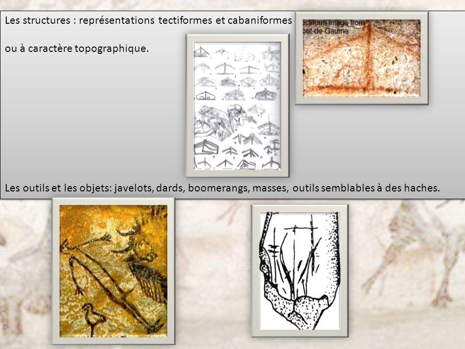 Les structures : représentations tectiformes et cabaniformes