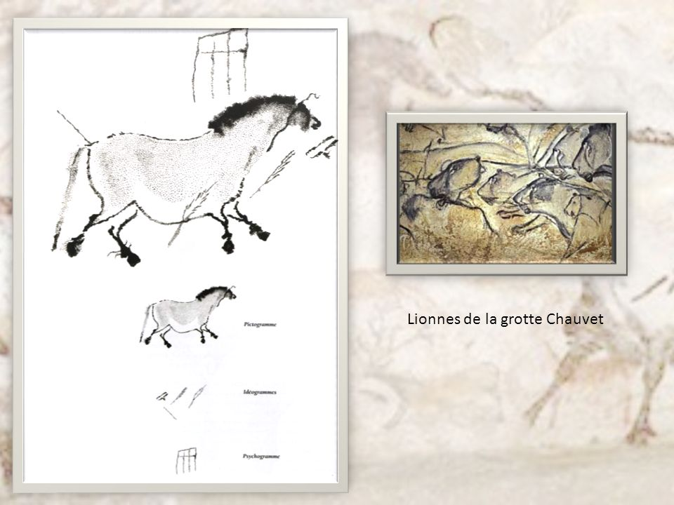 Lionnes de la grotte Chauvet