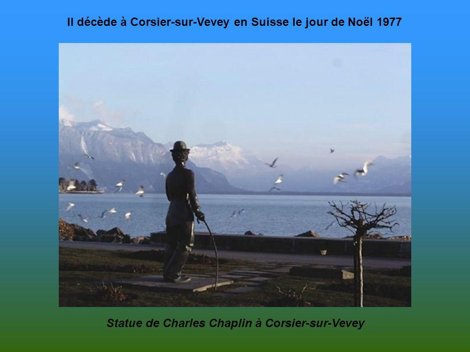Il décède à Corsier-sur-Vevey en Suisse le jour de Noël 1977