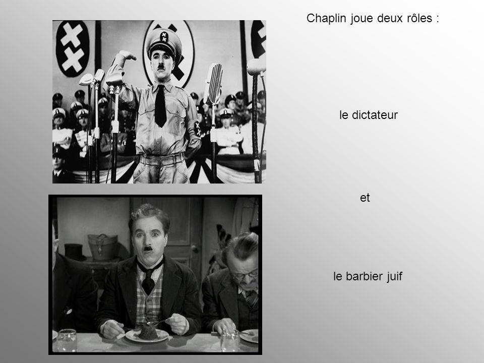 Chaplin joue deux rôles :