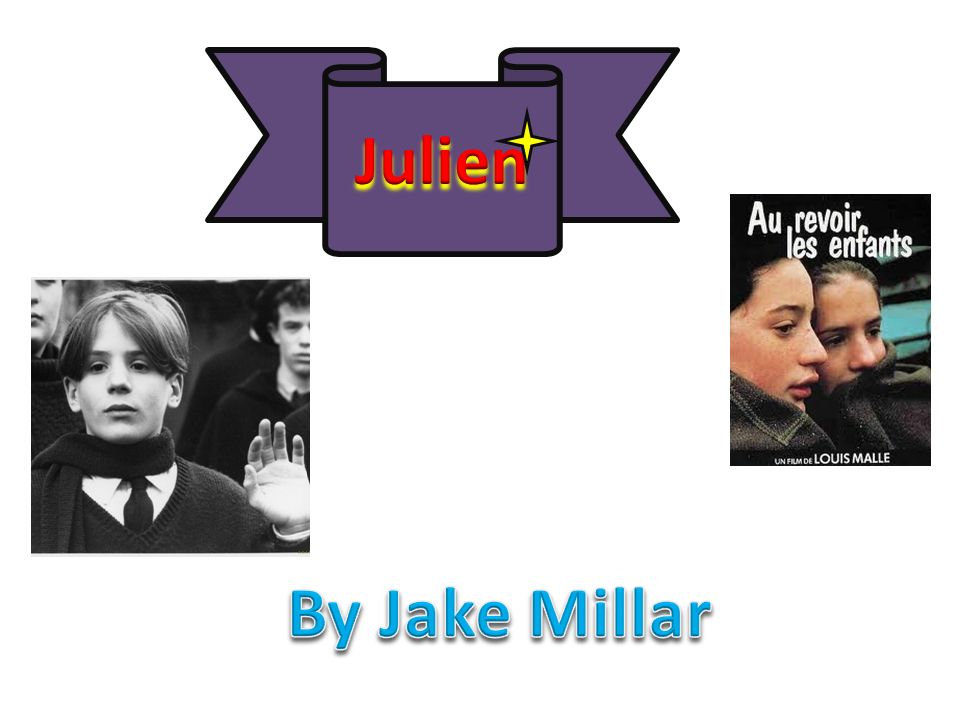 Julien By Jake Millar