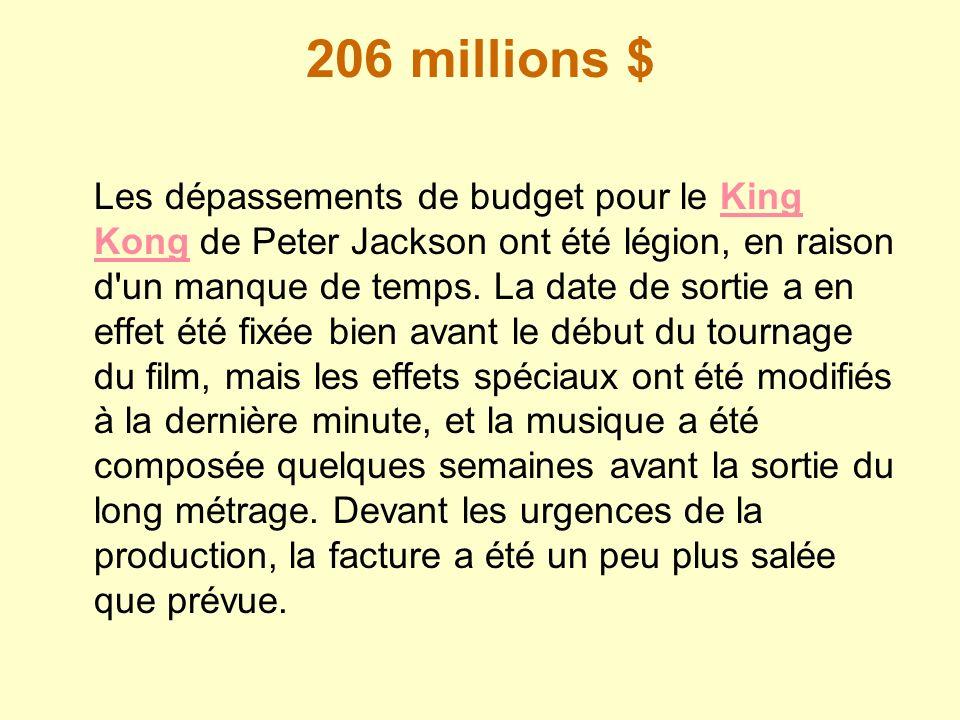 206 millions $