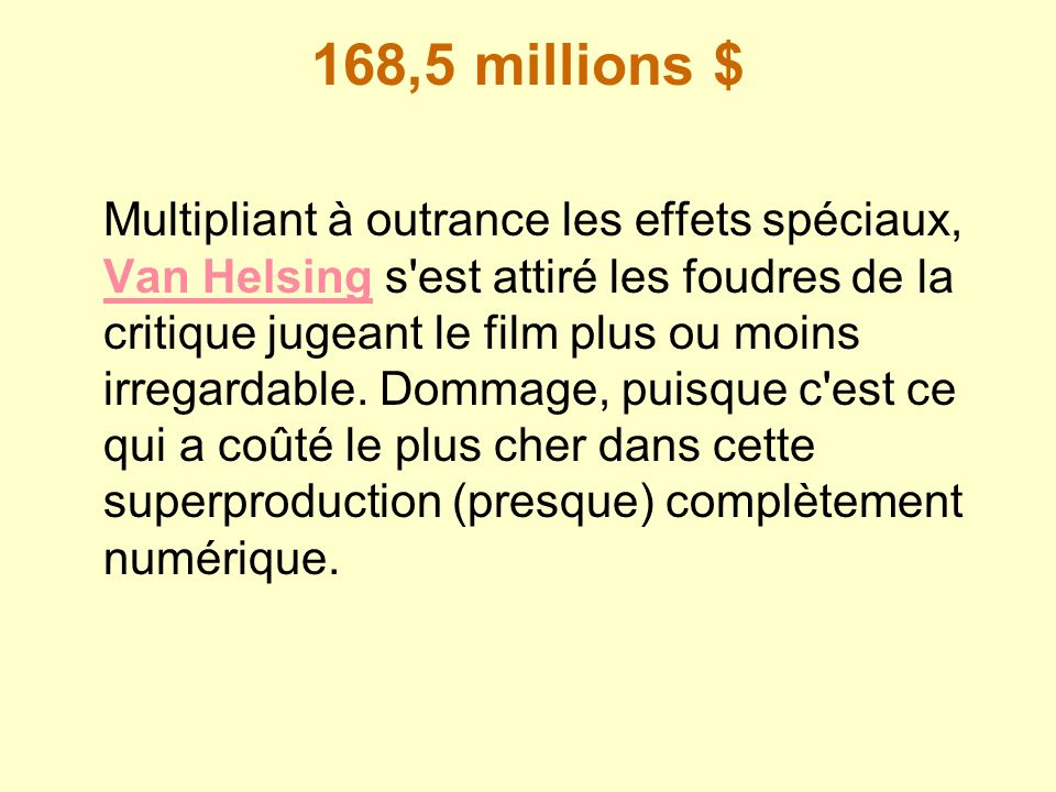 168,5 millions $